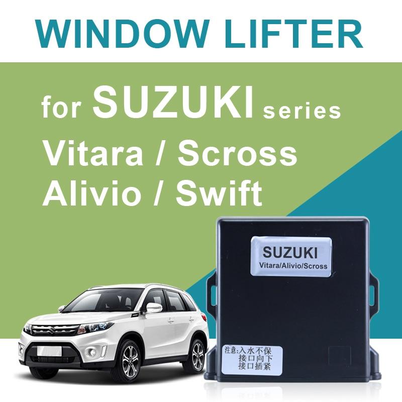 Système de fenêtre d'alimentation de voiture pour SUZUKI Vitara/Alivio/Scross/Swift fenêtre plus proche conduite à gauche