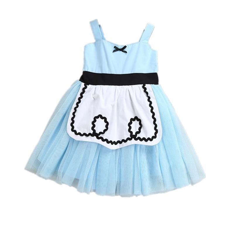 Cinderella Princess Girl Tutu Dress Children's Day Alice