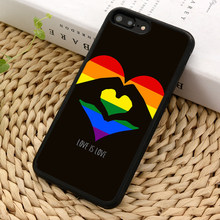 MaiYaCa Gay Lesbian Pride Flag LGBT Phone Case For iPhone 5 6s 7 8 plus 11 pro X XR XS Max Samsung Galaxy S6 S7 edge S8 S9(China)