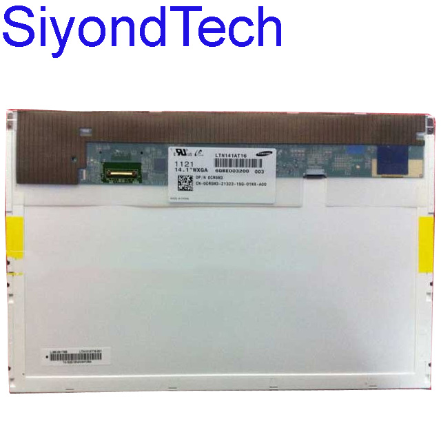 New 14.1LCD Screen Panel Display LTN141AT16 LP141WX5 TPP1 B141EW05 V5 For Dell E6410 quying laptop lcd screen b141ew05 v3 lp141wx5 tln1 ltn141at12 with buckle for dell e5400 e5500 e6400 notbook