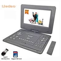Liedao 13 9 Inch Portable DVD EVD VCD SVCD CD Player With Game And Radio Function