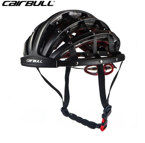 CAIRBULL New Design Folding Cycling Helmet Ultralight Bike Helmets Breathable Portable Road Bicycle Helmet Safety Hat Capacete