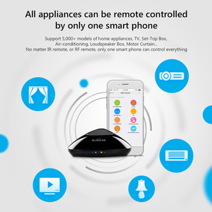 Image 4 - Broadlink RM PRO+RM33 Smart Remote Control Smart Home Automation Hub Controller WiFi+IR+RF Switch For IOS Android Phone
