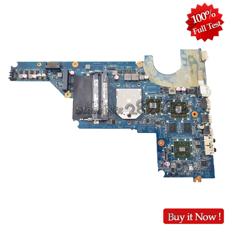 NOKOTION 638855-001 647627-001 MAIN BOARD For HP Pavilion G4 G6 G7 Laptop Motherboard Socket S1 DDR3 with Free CPU nokotion laptop motherboard for hp dv6000 dv6500 dv6600 s1 449902 001 main board da0at1mb8f1 ddr2 geforce 8400m with free cpu