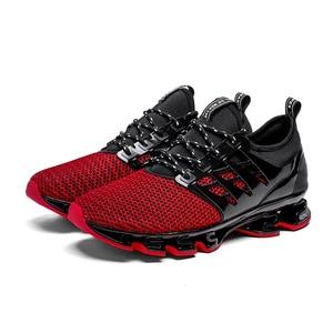 Image 4 - Big Size 36 46 Men Women Running Shoes Outdoor Breathable Jogging Sport Blade Shoes for Mens Krasovki Walking Sneakers for Men