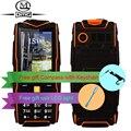 Русская клавиатура IP67 водонепроницаемый Мобильный телефон 5200 мАч батареи Беспроводной FM противоударный фонарик Камеры открытый сотовые телефоны