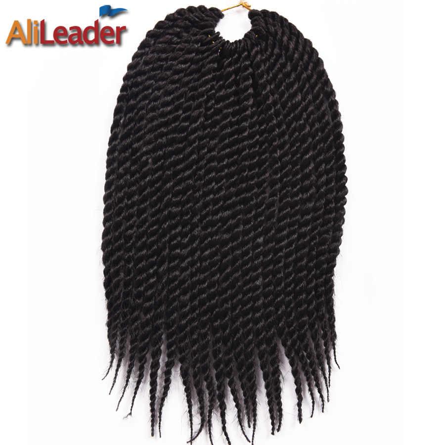 Alileader 22 Strengen/Pcs Haak Haar Havana Haak Twist Hair Extension Soft Synthetisch Gehaakte Vlechten Voor Kids 12 Inches