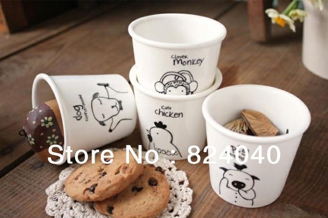 Free Shipping!  12PCS Ceramics Coffee Cup