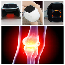 цена на LLLT 808nm Heating Laser Electric Knee Massager Knee Joint Sports Injury pain relief device