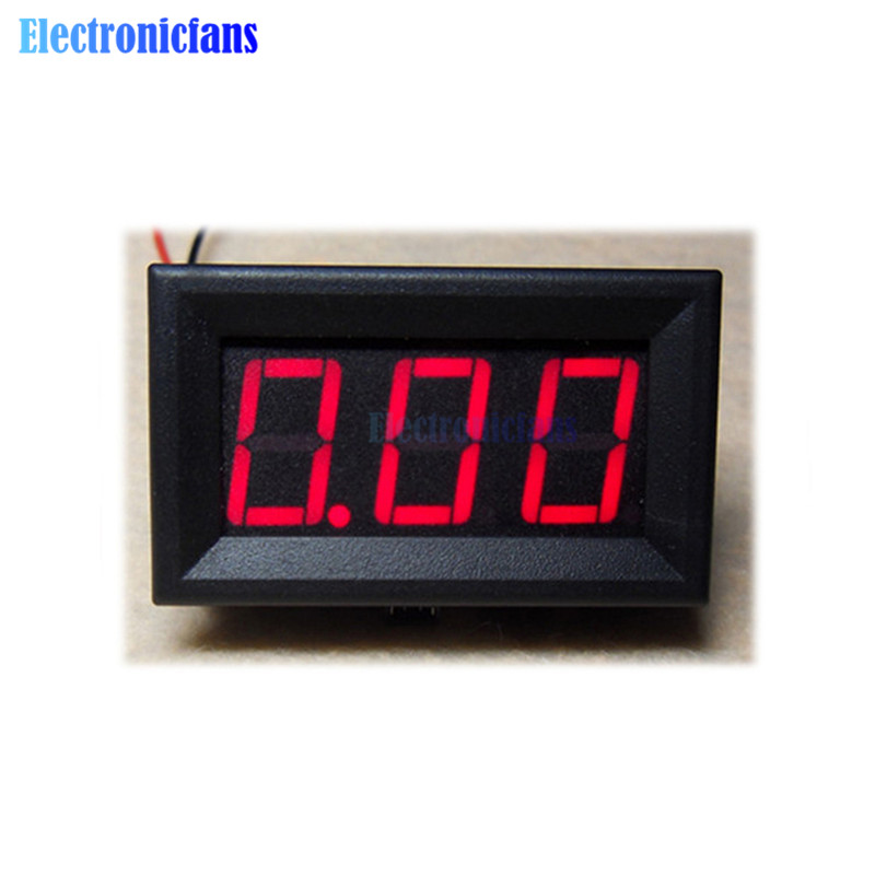 DC 0 To 10A NEW Red LED Panel Meter Mini Digital Ammeter