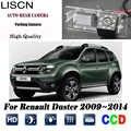Cámara de visión trasera para Renault Duster 2009 2010 2011 2012 2013 2014 Cámara inversa/CCD/visión nocturna/ placa de cámara