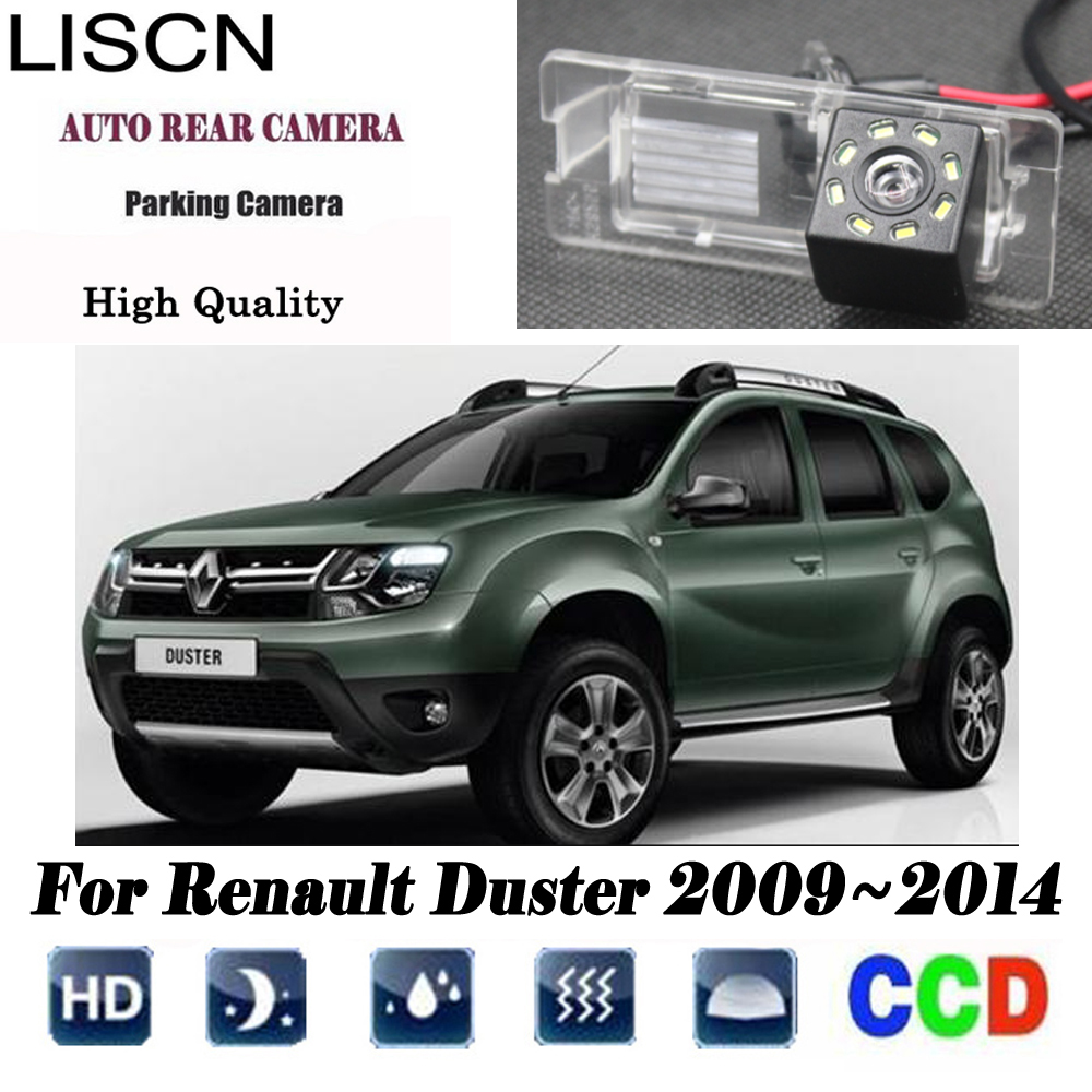 Rear View Camera For Renault Duster 2009 2010 2011 2012 2013 2014 Reverse Camera/CCD/Night Vision/license Plate Camera
