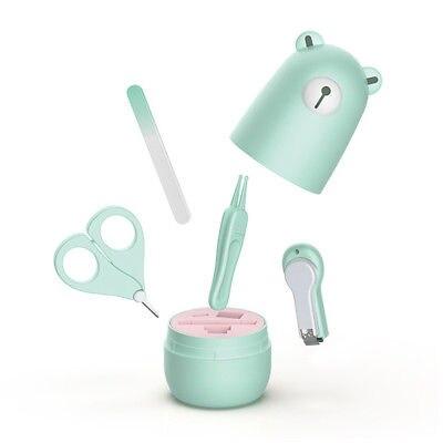 4 Teile/satz Baby Maniküre Kit Set Kleinkinder Sicherheit Gesundheit Pflege Nagel Clipper Schere Mutter & Kinder Babypflege