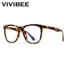 VIVIBEE для женщин негабаритных Леопард анти синий луч светильник фильтр очки для защиты компьютера Блокировка игры мужчин очки