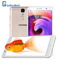 """6.5 """"pulgadas doogee max 4g + lte smartphone android 6.0 mtk6750 y6 octa-core teléfono celular 3 gb + 32 gb 13mp 4300 mah teléfono móvil de huellas digitales"""