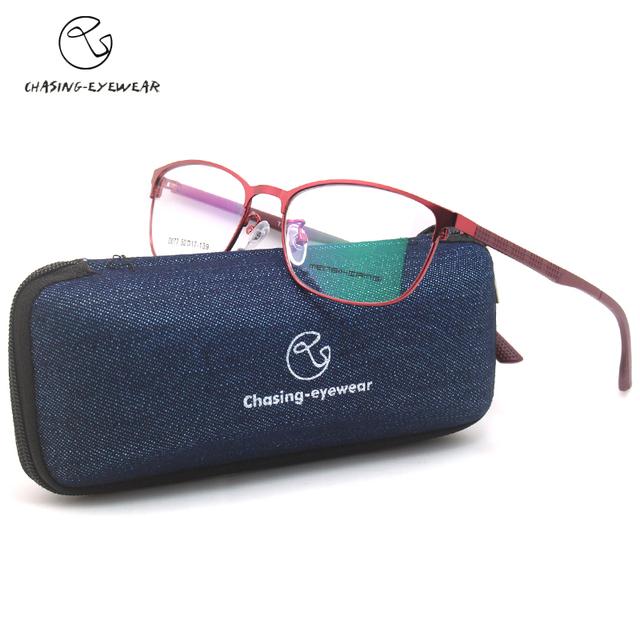 Chasing d077 novas mulheres optical óculos retro óculos hand-made quadro miopia óculos oculos de grau 2017 da senhora da forma óptica