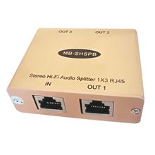 Cat5 Hi-Fi Audio dystrybutora analogowe Audio dystrybutora ponad Cat5 6 kabel 3 RJ45 rozdzielacz Audio tanie tanio MuxBOXS 2015 Nie odtwarzacz MB-SHSPB 1000M 0 07 -Max 20-20k Hz Less than 1 dB Greater than 60dB