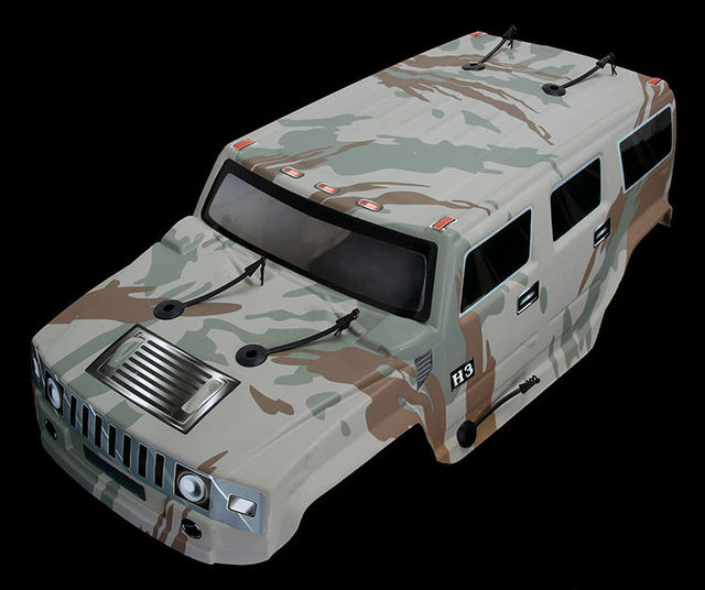 15 Scale 4x4 Bm Body Only For 15 Rovan Big Monster Rc Truck In