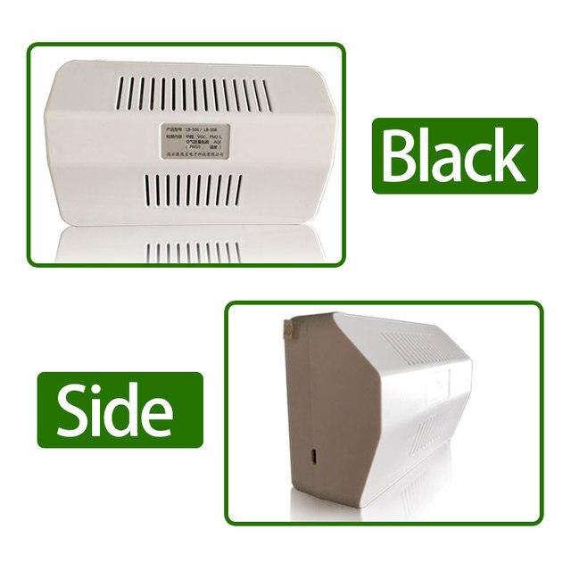 Sensore Laser PM2.5 Rivelatore Portatile Precisa di Aria di Qualità Monitor Tester Mantenere Batteria Al Litio di Illuminazione Chargable Rilevatore di aria