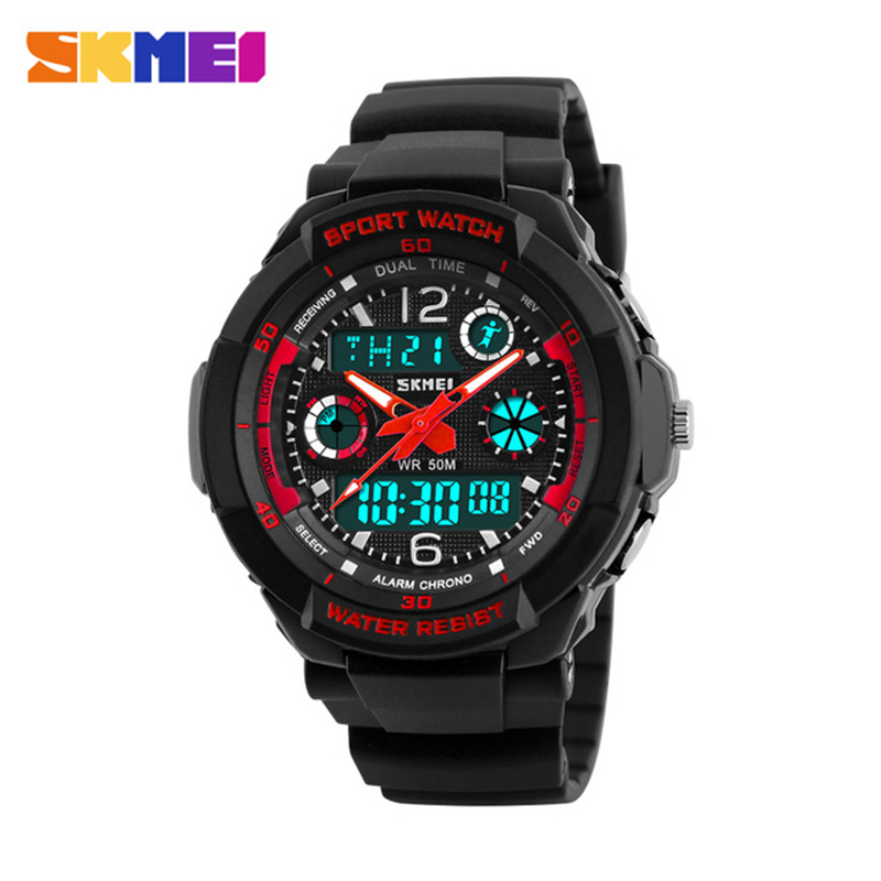 Skmei Children Sport Watches Military Fashion Kids Quartz Led Display Digital Watch Relogio Relojes Boys Waterproof Wristwatches kids watches children silicone wristwatches doraemon brand quartz wrist watch baby for girls boys fashion casual reloj