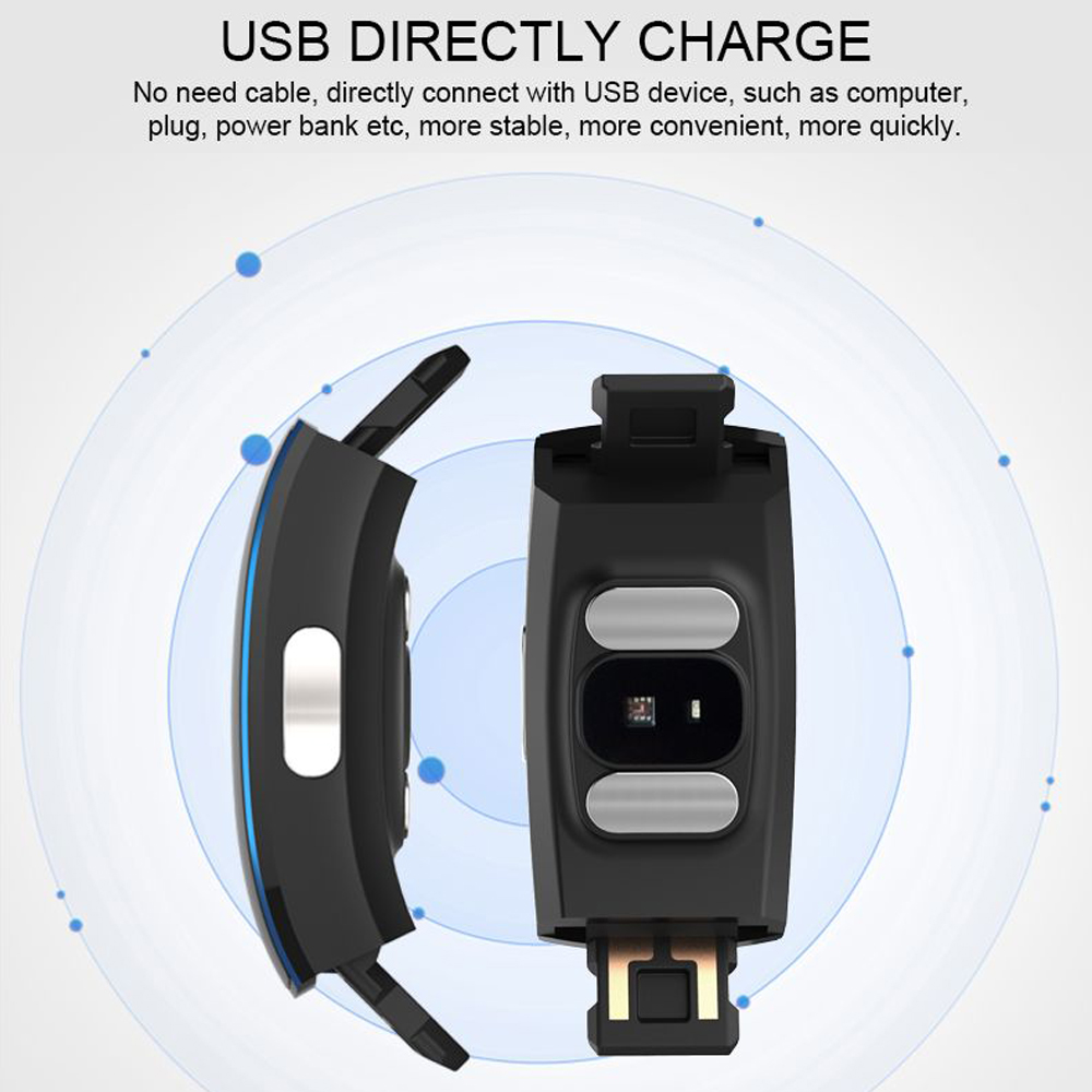 Hangrui P3 Heart Rate Tracker PPG ECG Smart Bracelet Blood Pressure Fitness Tracker Wristband Waterproof Sport Watch Wrist band (5)