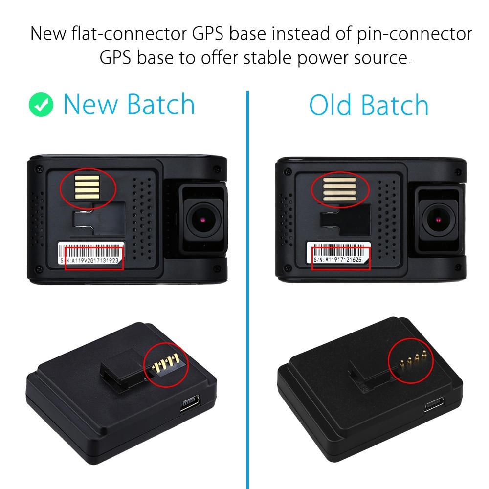 CPL+Hard Wire VIOFO A119S V2 Capacitor Novatek 96660 1080p GPS Car Dash Camera