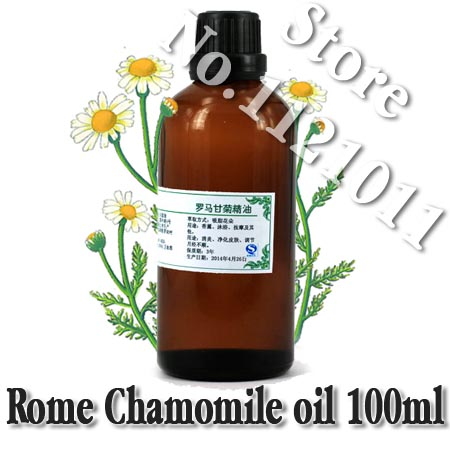 wholesale!!skin care oil Free shopping 100% pure plant essential oils Rome Chamomile oil sensitive menstruation breath face-lift