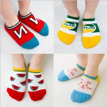 Summer Style Floor Boat Socks Breathable Invisible Socks Baby Socks 5 Pairs Pack