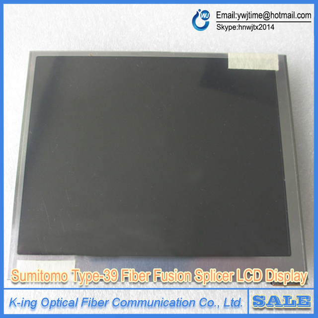 Sumitomo Type-39 Type-66 Optical Fiber Fusion Splicer LCD Display