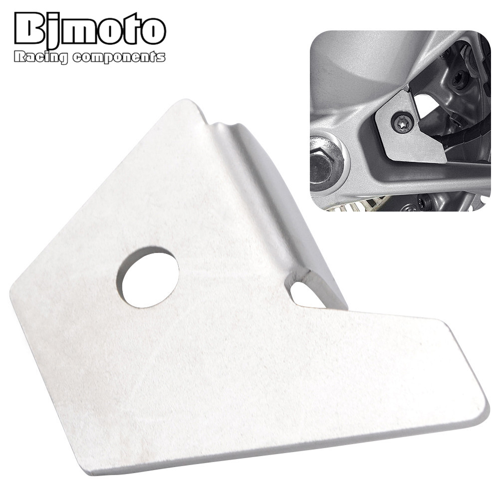 BJMOTO For BMW R1200GS Water Cooled 2013-2016 Motorcycle Front ABS Sensor Guard Cover Protection