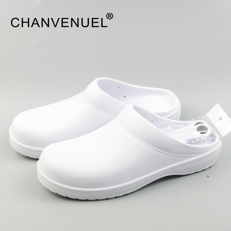 все цены на 2017 Women Classic Anti Bacteria Surgical Shoes Medical Shoes Safety Surgical Clogs Cleanroom Chef Work Shoes For Women Unisex