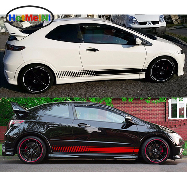 200 13 5cm Car Styling 2x Decal Car Sticker Graphic Stripe Kit For