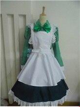 Vestido de Delantal de la Criada de Anime APH Hetalia Hungría Cosplay