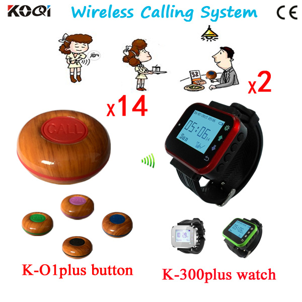 Wireless Waiter Call Bell System Restaurant Equipment Alarm Wireless Pager Waiter Buzzer CE Good Price DHL Free Shipping|dhl america|buzzer ringer|dhl quote - title=