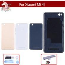 10pcs/lot Original Glass For Xiaomi Mi 4I mi4i Back Battery Cover Rear Door Housing Case mi 4i Panel Replacement