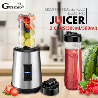 Gustino Electric Juicer Mini Professional Blender Fruit Baby Food Milkshake Mixer With 2 Speeds Meat Grinder Juice Maker Machine