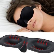 2016 New 3D Eye Cover Sleeping Mask Travel Soft Sponge Eye Mask For Girls Rest Eye