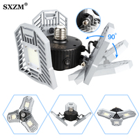 60W 80W Led Deformable Lamp light E27 LED Strip SMD Bulb Radar Home Lighting High Intensity Parking Warehouse Garage Industrial