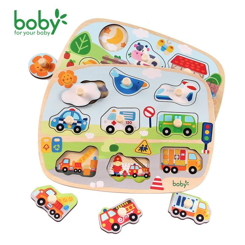 Boby Baby Hand Grasp 3D Деревянные головоломки - Игры и головоломки