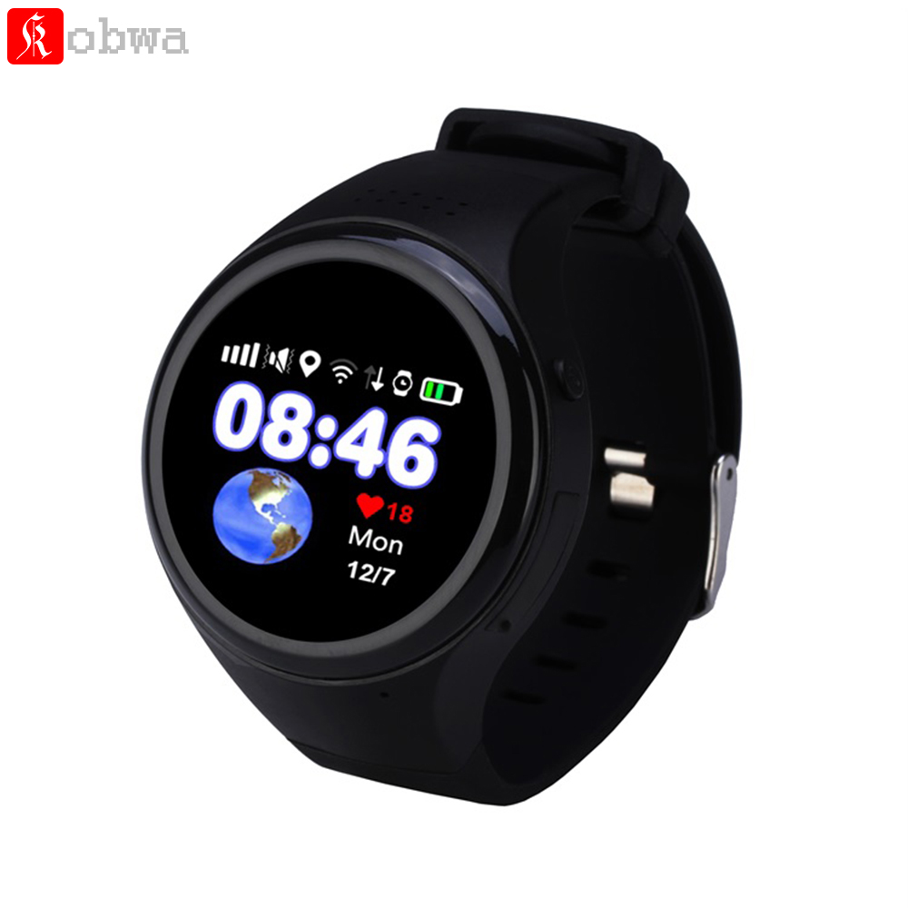 цена T88 Smart Watch GPS WIFI LBS AGPS Tracking Children Elder Smartwatch SOS Passometer G-sensor Watch for Ios Android For Baby