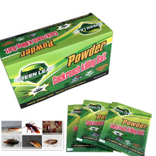 10 Pack/Lot Effective Killer Cockroach Powder Bait Cucaracha Medicine Insect Reject Pest Control Repellent
