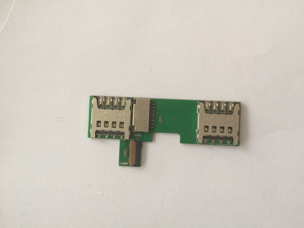 100% Used SIM Card Reader Holder Connector for Homtom HT5 free shipping+Tracking number