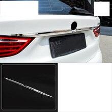 купить lsrtw2017 stainless steel car rear logo trims for bmw 2 series Active Tourer F45 F46 2015 2016 2017 2018 2019 218i 7 seats онлайн