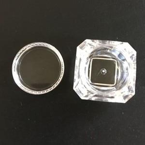 Image 5 - 100 pçs/lote 5g frascos de plástico transparente frascos creme forma diamante amostra garrafa 5ml 0.17oz garrafas vazias cosméticos recipiente bot01