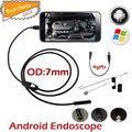 7mm Lens Android USB Endoscope Camera 6 LED IP67 Waterproof Snake Tube Pipe Borescope OTG USB Camera Android Phone 5m Cable