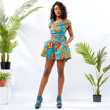 african clothes for women fashion Ankara Cotton wax batik print sexy jumpsuit traditional high Quality