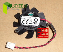 Original Cooler Master FY04010M12LNB 37mm Graphics / Video Card  Fan Replacement 31mm 12V 0.20A 2Wire 2Pin