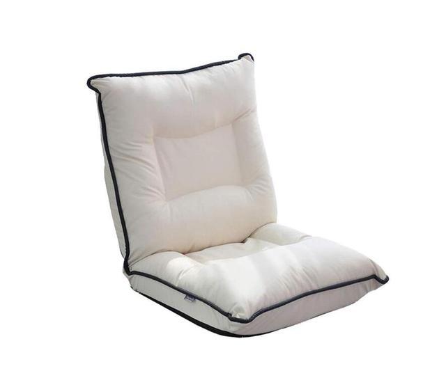 Chaise En Cuir De Sol Moderne Salon Meubles Comfortable Inclinable Mode Loisirs Tatami