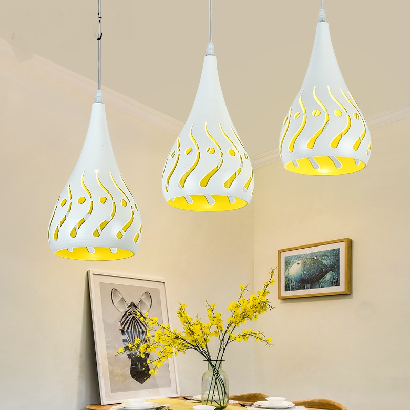 Pendant Lights led restaurant lights bedroom 3head Pendant lamp creative personality bar romantic Study dining room lights LO729 personality simple modern led creative aluminium pendant lamps cover room restaurant bar study taipei europe lamp pendant lights