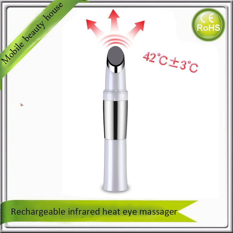 High Frequency Vibration Infrared Hot Ionic Anti Aging Wrinkle Face Eye Skin Lifting Tightening Magic Beauty Massager Wand home travel use iontophoresis ems stimulator anti aging anti wrinkle face eye lift skin tightening firming beauty instrument